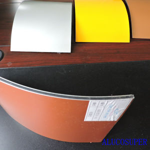 Alucosuper Brand Aluminum Composite Panel pictures & photos
