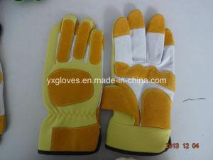 Pig Split Leather Glove-Garden Glove-Working Glove pictures & photos
