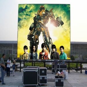 Outdoor P10 Full Color LED Display Advertising LED Module pictures & photos