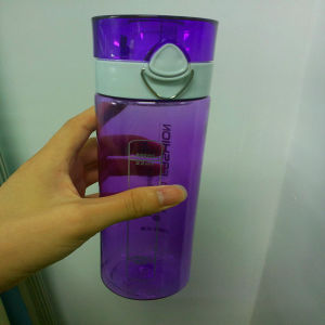 550/650/750ML PC bottle, plastic water bottle, BPA free water bottle with safety lock pictures & photos