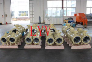 Trunnion Mounted Worm Gear Pneumaitc Electric Ball Valve pictures & photos