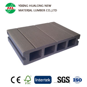 Anti-Slip WPC Outdoor Decking with High Quality (HLM21) pictures & photos