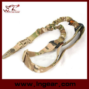 Airsoft Multi Function Rope Sling Double Bungee Gun Sling Rifle Sling pictures & photos