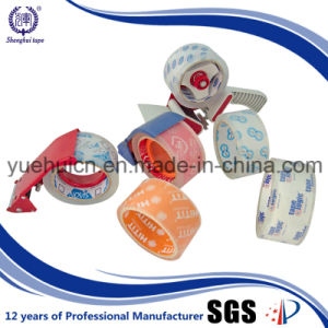 with Handle Dispenser BOPP Crystal Clear Packing Tape pictures & photos