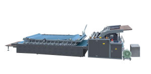 Semi Automatic Flute Laminating Machine pictures & photos