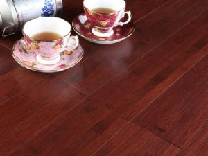 Engineerd Bamboo Flooring Bamboo Top Cherry Color pictures & photos