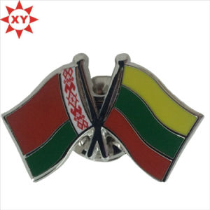 Republic of Lithuania Flag Metal Plated Badge Pin pictures & photos