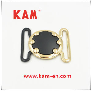 Good Looking Fashionable Colorful Decorative Women Dress Buckle with Round Shape