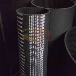 Timing Belt Std3m PU and Rubber Material pictures & photos