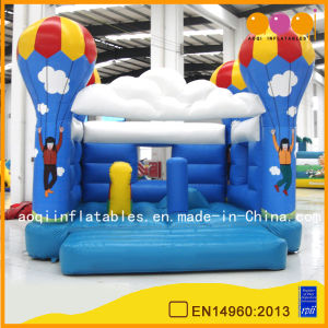 Parachuting Theme Inflatable Bouncer Jumper (AQ02133) pictures & photos