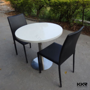China Small Size Solid Surface Retaurant Dining Table For 2 Person China Restaurant Dining