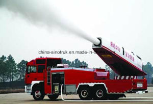 Top Quality HOWO Air Turbine Fire Fight Trucks Fire Pump Fire Engine with 16m-70m Height pictures & photos