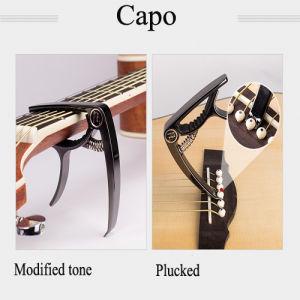 Zinc Alloy Guitar Capo Colors Can Be Choose
