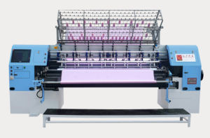 High Speed Computerized Shuttle Multi-Needle Quilting Machine for Blankets, Quilts, Garments pictures & photos
