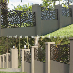 Laser Cut Perforated Carving Aluminum Facade Fence Panel pictures & photos