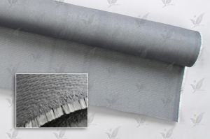 Gray Colour Silcion Coated Fiberglass Cloth Double Sides pictures & photos