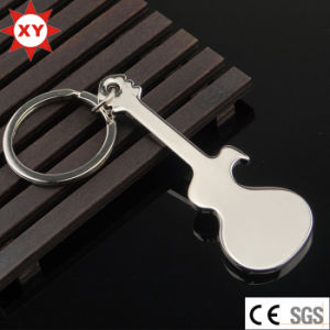 Factory Supply Promotional Guitar Keychain pictures & photos