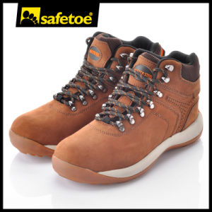 Nubuck Leather Sporty Shoe (M-8346) pictures & photos