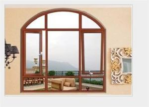 Fxuan Aluminum Window Top Round Sliding Window Drawings pictures & photos