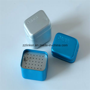 Bur Disinfection Box 30-Holes Resistant to High Temperature pictures & photos