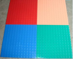 Anti-Slip Coin Flooring, Pattern Hospital Rubber Flooring pictures & photos