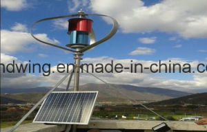 1kw Vertical Wind Energy Generator with Alluminum Alloy Blades pictures & photos