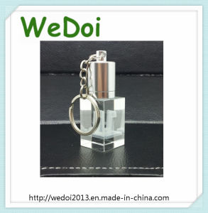 Keychain Crystal USB Pen Drive for Promotion Gift (WY-D38) pictures & photos