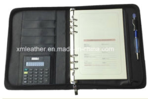 Business PU Leather Bound Filofax with Ring Binder pictures & photos