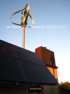 Vertical Axis Wind Generator for Home Use 1kw pictures & photos