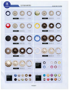 Rivet for Clothes Snap Ring Button Decoration Prong Button & Covered Mould Button pictures & photos