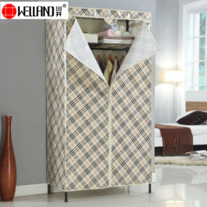 Modern Home Furniture DIY Steel or Iron Wardrobe Design pictures & photos