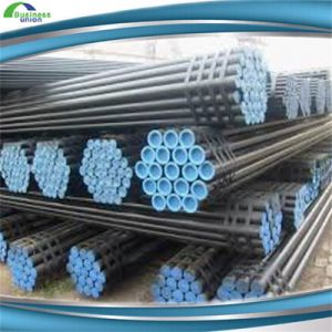Welded Carbon Black Round Scaffolding Steel Pipe pictures & photos