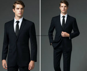 Wholesale Men Slim Fit Custom Suits Manufacturers, Men Woolen Cashmere Suits of High Quality Formal Office Business Suits pictures & photos
