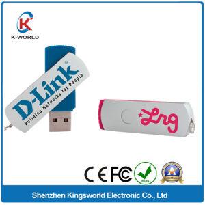 Free Logo Metal Swivel USB Flash Drive