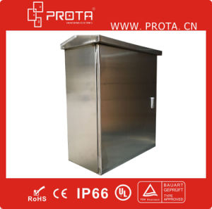 Outdoor Using Stainless Steel Distribution Box with Canopy pictures & photos