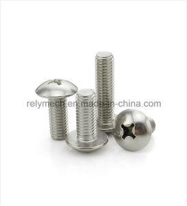 Fastener Stainless Steel Round Head Screw/Cross Machine Screw M5-M6 pictures & photos
