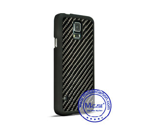 Made in China Carbon Fiber PC Plastic Phone Case for Samsung Galaxy S5 pictures & photos