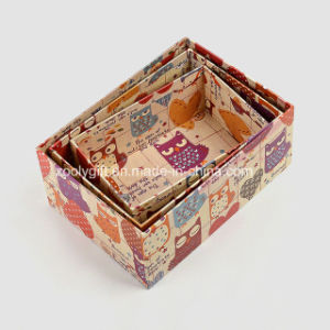 Printing Kraft Paper Storage Packing Gift Boxes pictures & photos