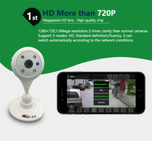 Factory Sale 1 Million Pixels 720p P2p HD Mini WiFi IP Camera with Competitive Price pictures & photos