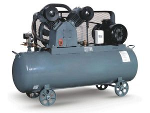 Portable Low Pressure 8bar Electric Reciprocating Piston Air Compressor with Tank pictures & photos