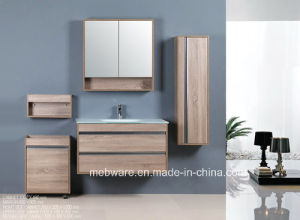 MDF Bathroom Wall Corner Cabinet pictures & photos