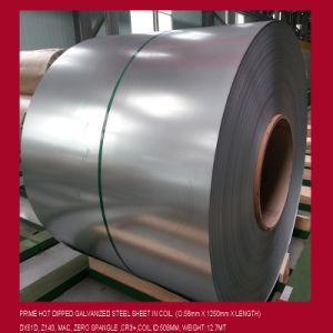 Dx51d, SGCC, ASTM 653 (HDGI, HDGL) , Zinc Coated Steel Coil