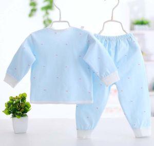 100% Cotton Long Sleeve Suit Baby Infant Underwear Set pictures & photos