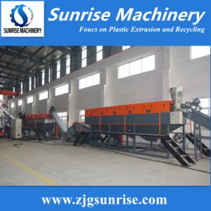 Waste Plastic PP PE Film Bag Crushing Washing Drying Recycling Machine pictures & photos