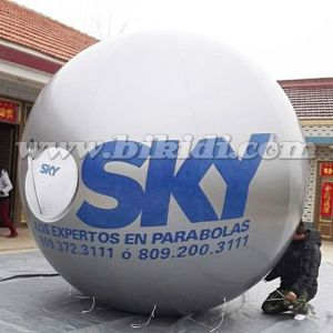 Advertising Inflatable Helium Balloon, Helium Round Balloon with Custom Logo K7190 pictures & photos