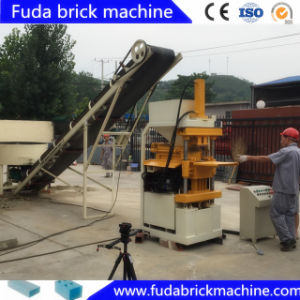 Automatic Soil Clay Block Interlocking Lego Block Making Machine Uzbekistan pictures & photos