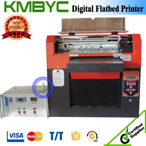 Byc168-3 8-Color A3 Plus Size Multi-Function Flatbed Food and T-Shirt Printing Machine pictures & photos