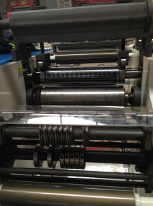 Rotary Die-Cutting and Slitting Machine Adhesive Label pictures & photos