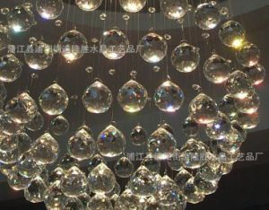 Crystal Glass Hanging Ornament Chandelier pictures & photos