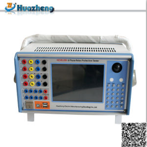 Hzjb1200 6 Phases Microcomputer Substation Protection Relay System Tester pictures & photos